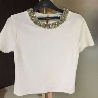 New look beaded blouse
