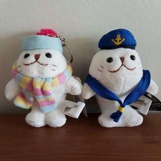 BN Seal Mascot Keychain HK Ocean Park
