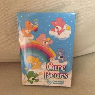BN sealed carebear 25pcs postcard