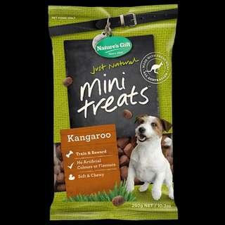 2 x Kangaroo Mini Treats for Dogs