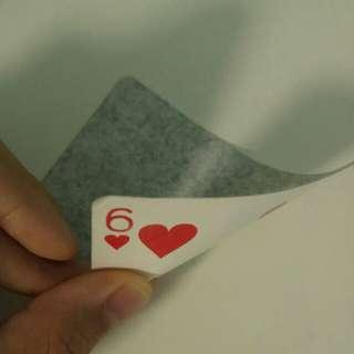 CARD PEELING SERVICE