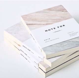 [PO] marble notebook