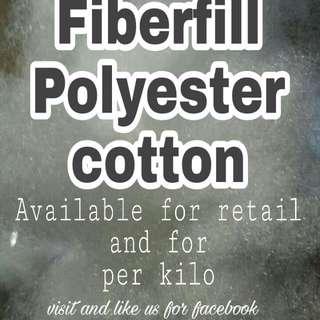 Fiberfill polyester cotton