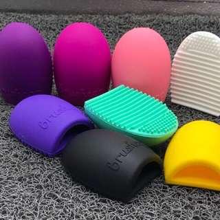 Brush Egg Make Up Brushes Cleaner