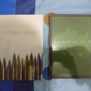 Two Bob Ong books
