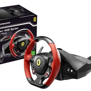 Thrustmaster Ferrari Steering Wheel 458