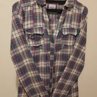 Berskha purple flannel