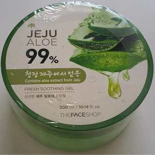 The Faceshop Jeju Aloe 99% Fresh Soothing Gel (New)