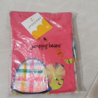 New Jumping Beans girl set.