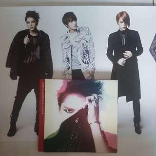 Kim Jaejoong 1st Mini Album with poster