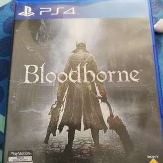 Pre owned Bloodborne