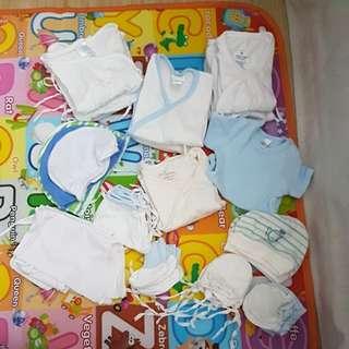 Preloved Newborn Baby Boy Set