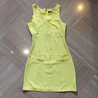 ASOS Yellow Dress