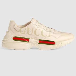 Fast PO Gucci Rhyton Sneakers