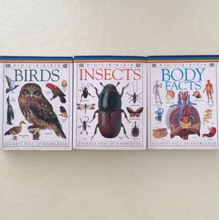 Books - insects - Birds - Body Facts