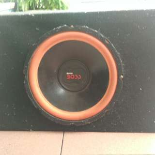 Satu set audio mobil kenwood + free subwoofer original honda jazz