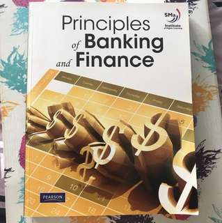 Principles of Banking and Finance