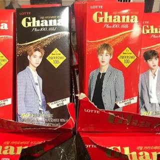 [PO] WANNA ONE X GHANA CHOCOLATE BAR