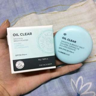 The Face Shop Oil Clear Smooth and Bright Powder (Shade N203)