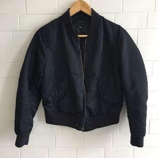 Uniqlo Blue Bomber Jacket