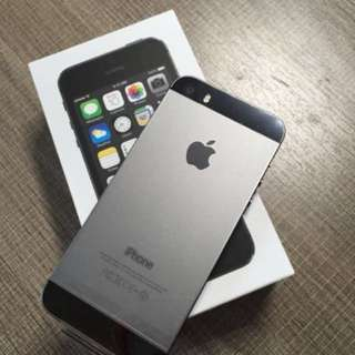 iphone 5s 64gb space grey 10/10
