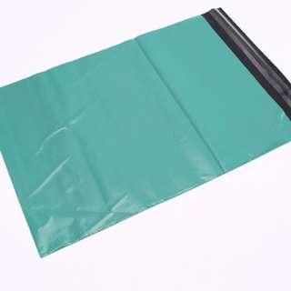 Matte Green Large Polymailer