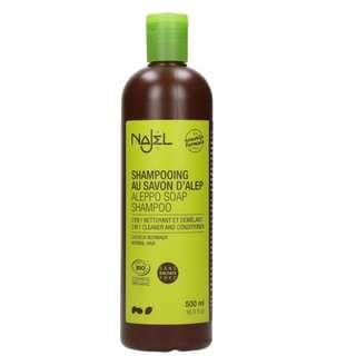 法國品牌 Najel 有機2合1阿勒頗洗髮水+護髮素 (普通髮質) 2 in 1 Aleppo Soap Shampoo for Normal Hair