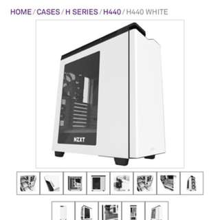 Nzxt H440 casing(white)