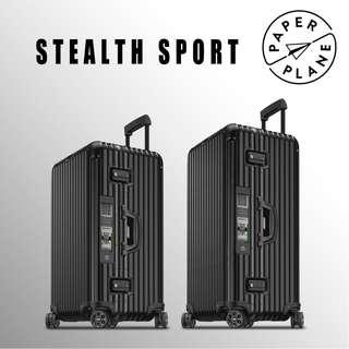 【PAPERPLANE】ETAG l RIMOWA Stealth Sport Series 923/4.75/80.015 行李箱 旅遊 旅行