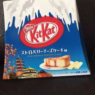 Kitkat strawberry cheese cake from japan