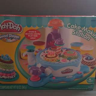 Cake making Play Doh set