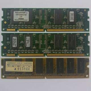 Kingston RAM DIMM 128MB 133MHz