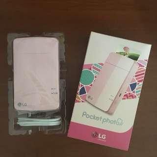 LG Pink Pocket Photo Printer PD251
