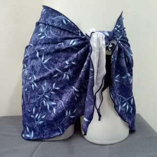 Skirt wrap cover up