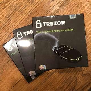 Trezor Hardware Bitcoin Wallet 電子錢包