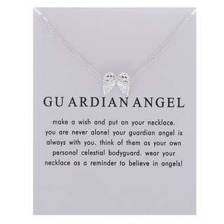 BEAUTIFUL GUARDIAN ANGEL NECKLACE IMPORTED CRAFTED
