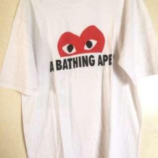 COMME DES GARCONS X A BATHING APE