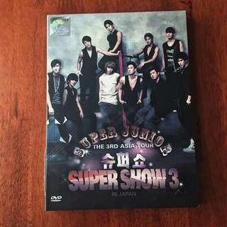 SUPER JUNIOR SUPER SHOW 3 DVD
