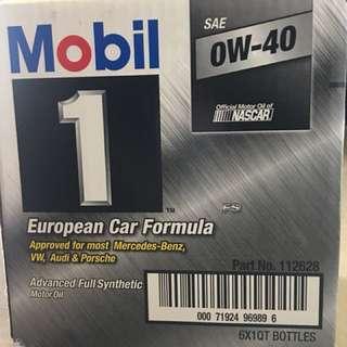 🚚 Mobil-1-OW/40全合成機油