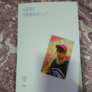 BTS LOVE YOURSELF w Jungkook pc