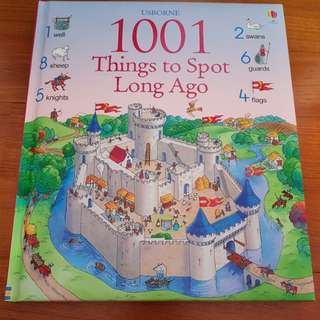 Usborne 1001 things to spot long ago