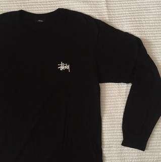 Stussy Basic Logo Long-Sleeved Shirt