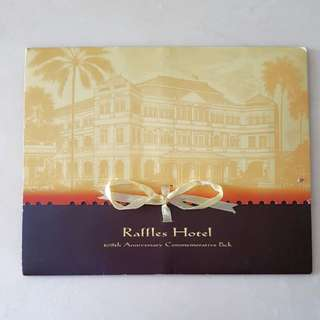RAFFLES HOTEL COMMEMORATIVE PACK