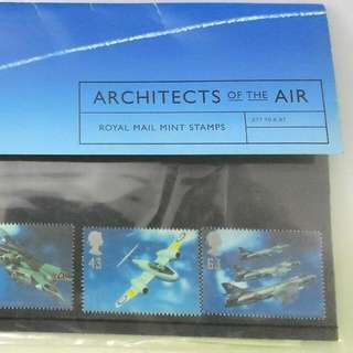 Commemorative First Day Cover Stamps Architects Of The Air Royal Mail Mint Stamps 10 Jun 1997