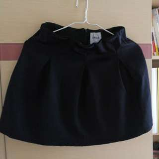 A land寶藍色短裙