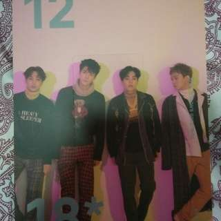EXO Season Greeting 2018 photocard