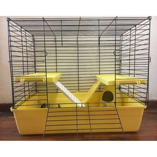 Pet cage & Accessories (for Chinchilla/ Rabbit/ Gerbil/ Guinea pig/ Syrian hamster)