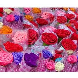 Handmade Valentine's Flowers