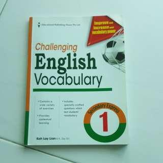 Sec 1 English Assessment Book.