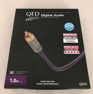 MINT QED PERFORMANCE DIGITAL COAXIAL RCA INTERCONNECT CAe
